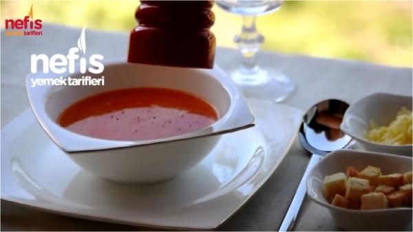 Sütlü Domates Çorbası