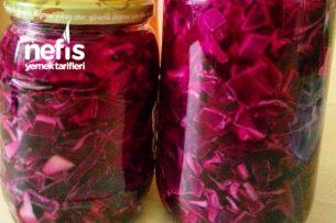 Kırmızı Lahana Turşusu ( Lokanta Usulü) Tarifi