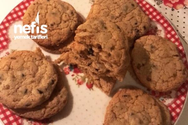 Damla Çikolatalı Naneli Cookie Tarifi