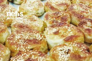 Çıtır Çıtır Lokmalık Gül Böreği Tarifi