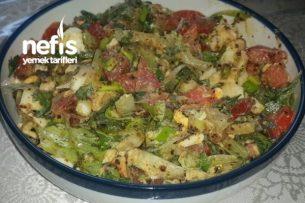Diyabetik Diyet Kahvaltılık Yumurta Salatası Tarifi