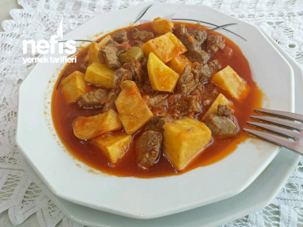 Tas Kebabı (lokanta Usulü )