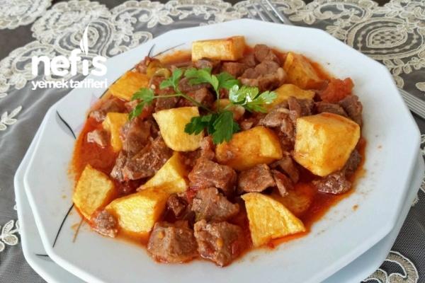 Tas Kebabı (Lokanta Usulü )(videolu) Tarifi