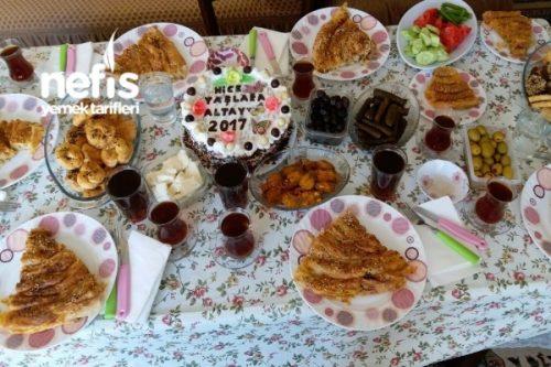 Bayram ve Yaş Günü Sofrası Tarifi