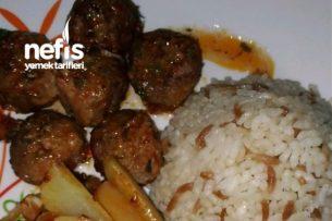 Fırında Patates Köfte (Özel Domates Soslu) Tarifi