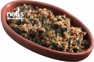 Ispanaklı Karabuğday Yemeği Tarifi