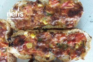 Bayat Somundan Pizza Tarifi