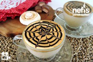 Bol Köpüklü Sütlü Kahve (Cafe Kahvesi) Videolu Tarifi