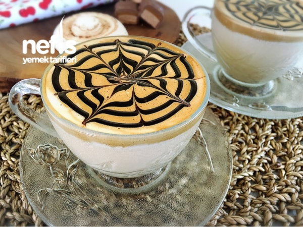 Bol Köpüklü Sütlü Kahve (Cafe Kahvesi) Videol