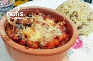Güveçte Patlıcan Tavası (Porsiyonluk) Tarifi