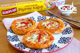Hazır Yufkadan Pizza Börek Tarifi