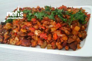 Etli Patlıcan Tava Tarifi