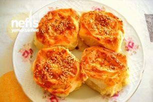 Çiğ Patatesten Pratik Gül Böreği Tarifi