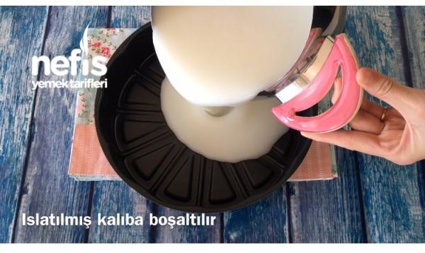 Su Muhallebisi (Dondurma Tadında) Videolu