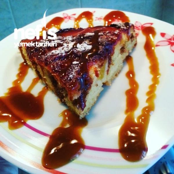 Nektari Ve Erikli Karamelize Kek