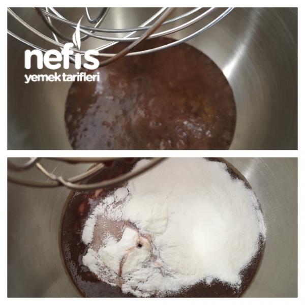 Süper Çikolatalı Pasta Kreması (yumurtasız)