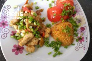Tavuk Kavurma Kebabı Tarifi
