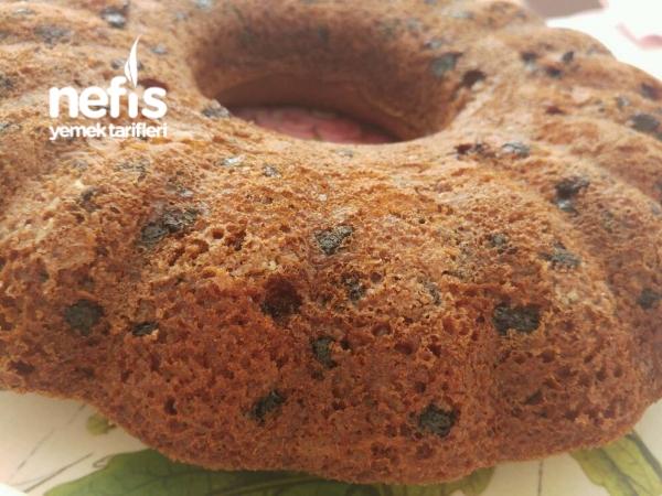 Cevizli Tarçınlı Çikolatalı Kek