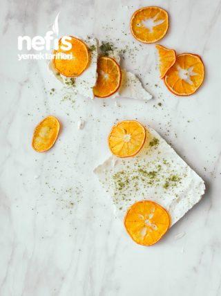 Kurutulmuş Portakallı Dondurma