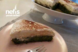 Ispanaklı Nefis Yeşil Pasta Tarifi