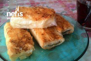 Baklavalık Yufkadan Ispanaklı Börek Tarifi