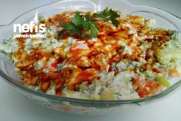 Patatesli Brokoli Salatası Tarifi