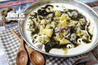 Antep Usulü Yoğurtlu Patates Tarifi