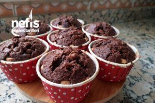 Kakaolu Muffin Kek (Yumuşacık) Tarifi
