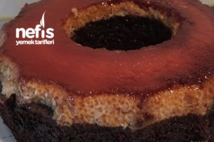 Krem Karamel Kek (Kolay Malzemeli) Tarifi