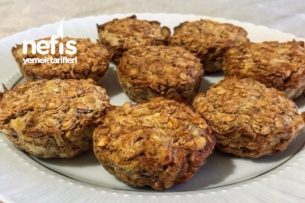 Şekersiz Muzlu Muffin Tarifi