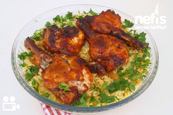Ballı Tavuk Pirzola Tarifi