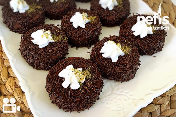 Kakaolu Lokum Tatlısı Videolu