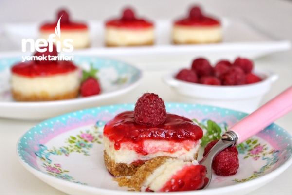 Böğürtlenli Mini Cheesecake