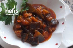 Bol Soslu Sarımsaklı Patlıcan Tarifi