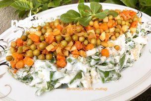Garnitür Soslu Semizotu Salatası Tarifi