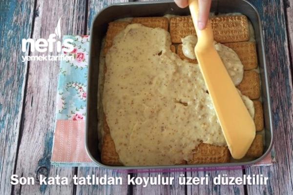İncirli Bisküvili Pratik Pasta