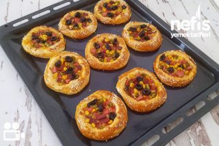 Tereyağlı Mini Pizza Tarifi