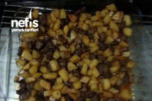 Fırında Patatesli Etli Yemek Tarifi