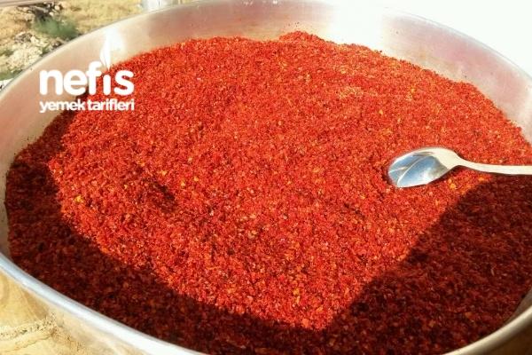 Kırmızı Pul Biber Yapımı