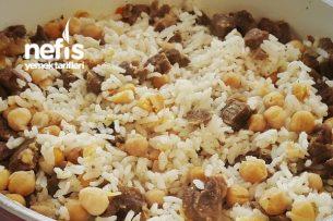 Nohutlu Etli Pirinç Pilavı Tarifi