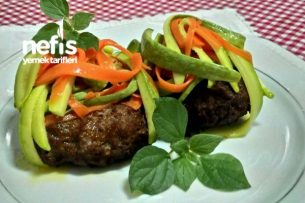 Sebzeli Hamburger Köftesi Tarifi