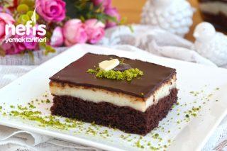 Şerbetli Çikolatalı Tatlı Yapımı (Videolu, Resimli Anlatımı ile) Tarifi