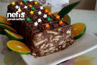 Pudingli Kolay Mozaik Pasta Tarifi