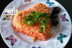 Sebzeli Bulgur Pilavı ( Meyhane Pilavı ) Tarifi