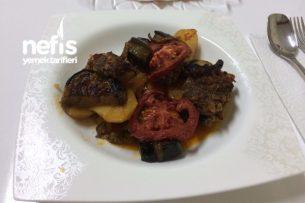 Fırında Köfte Patlıcan Tarifi