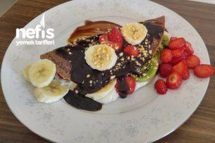 Meyveli Krep Bohçaları (Çakma Waffle) Tarifi