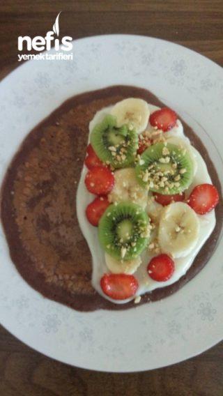 Meyveli Krep Bohçaları (Çakma Waffle)