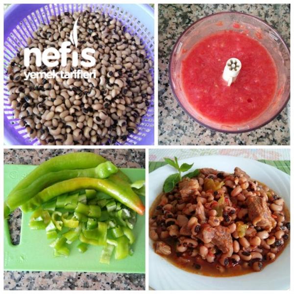 Sebzeli Etli Börülce Yemeği