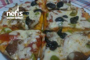 Tavada Pizza Şöleni (Harikaaa) Tarifi