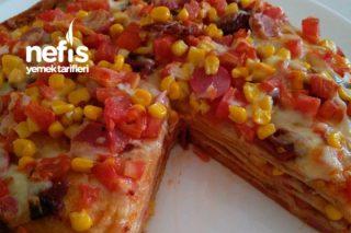 Kurtarıcı Lavaş Pizza Tarifi